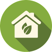 Residential Green Cleaning Icon
